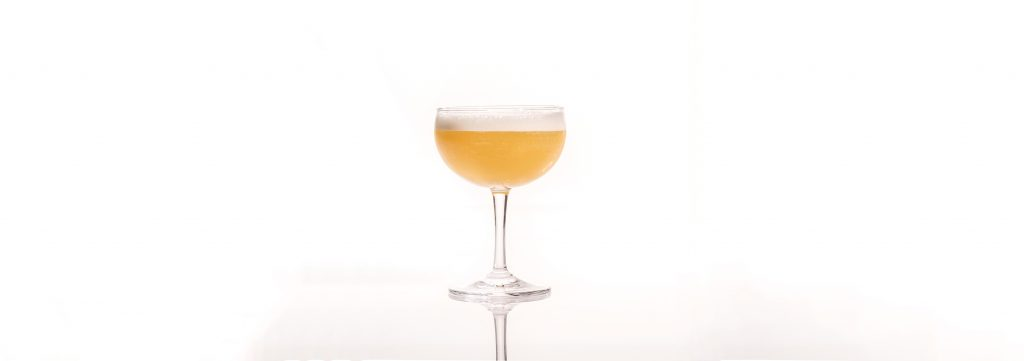 Yellow Drink #1 by Don Lee (Existing Conditions, NY) Ming River Baijiu Cocktail