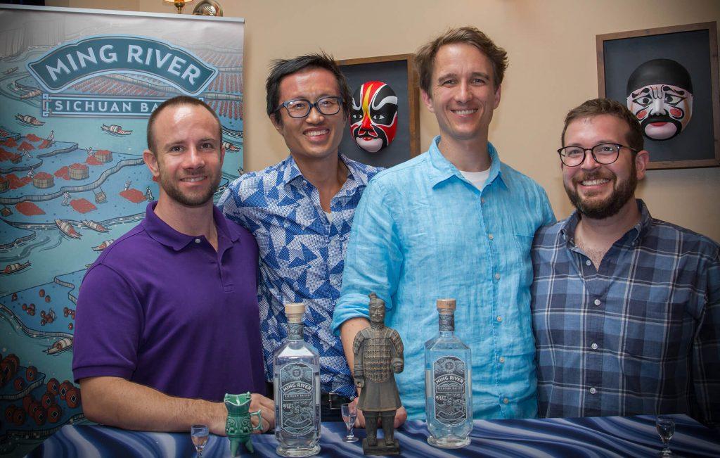 Ming River Cofounders Bill Isler, Simon Dang, Matthias Heger, Derek Sandhaus