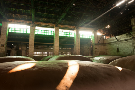 Pit room at luzhou laojiao distillery