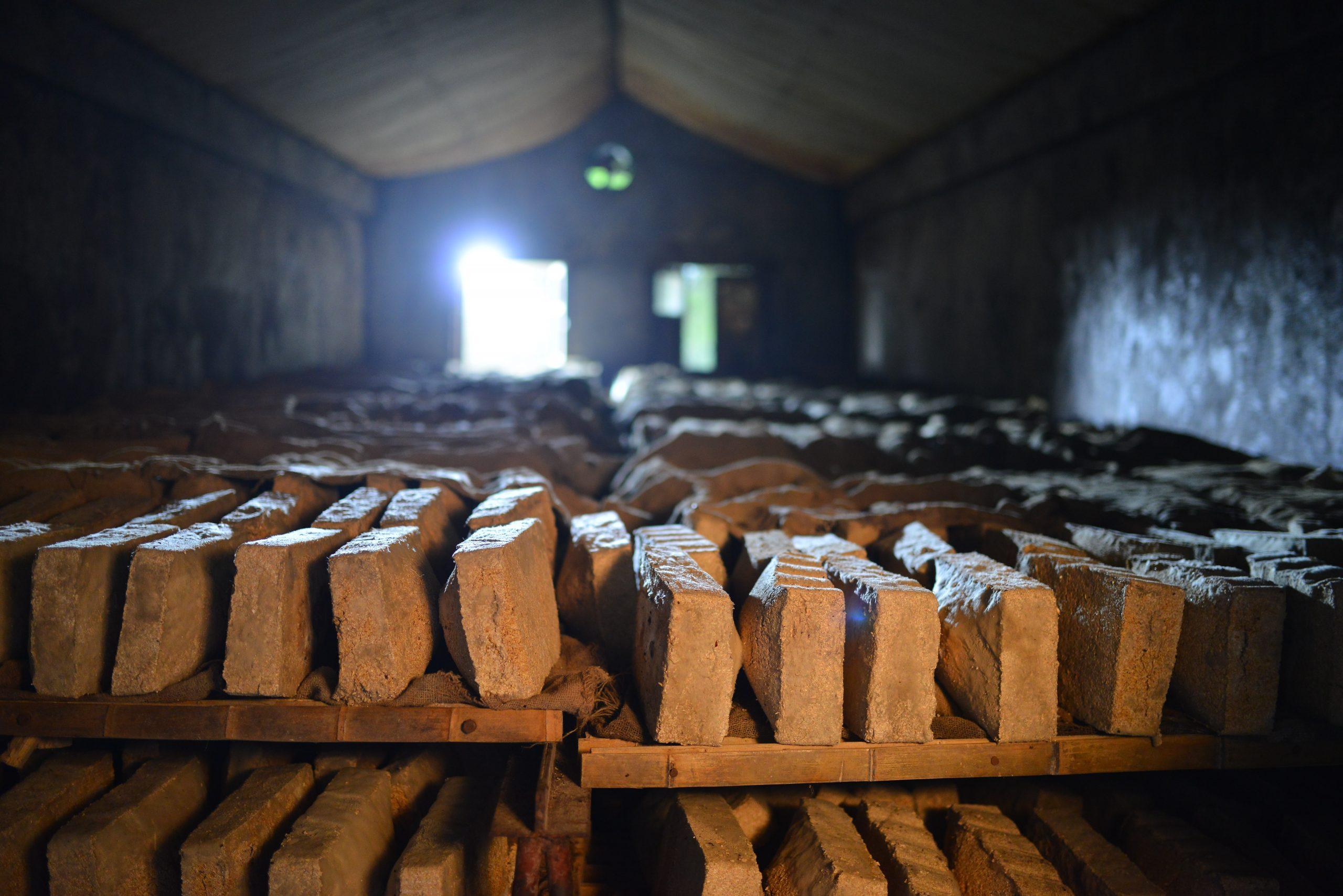 Qu Production luzhou laojiao baijiu distillery