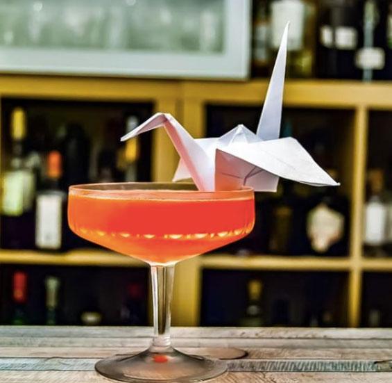 Paper Crane by David Putney Capital Spirits. Photo credit @cocktailbart.de