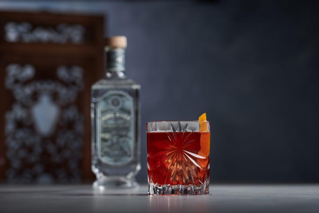 Baigroni cocktail